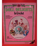 Dolls Toys Clown Santa Baby Pillow Purse Crochet Patterns  - $9.99