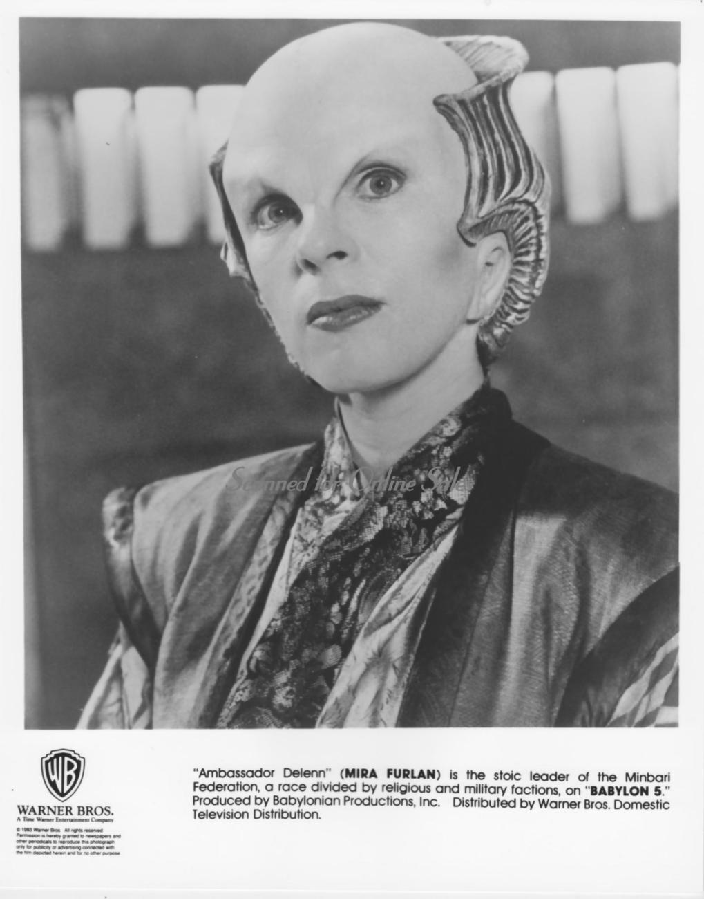 Babylon 5 Mira Furlan 8x10 Photo