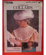 Vintage Crocheted Collars 6 Patterns Crochet Pattern  - $9.99