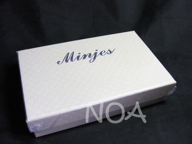 Luxury Leather Hard Back Case for iPhone 4 4G 4S White with Gift Box