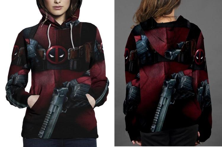 Deadpool Women's Hoodie
