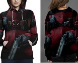 Deadpool women s hoodie thumb155 crop