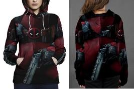 Deadpool women s hoodie thumb200