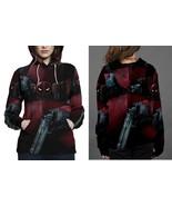 Deadpool women s hoodie thumbtall