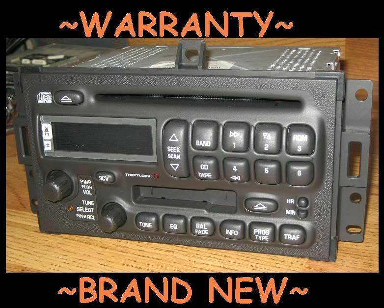 Primary image for NEW 2004-08 GM DELCO Pontiac Grand Prix AM/FM/CD CASSETTE TAPE Radio UNLOCKED