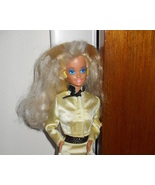 Barbie Doll Wearing Yellow Outfit - $5.99