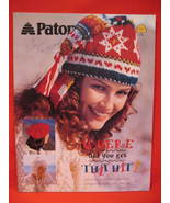 Patons 20 Knit and Crochet Hat Toques Caps Pattern Patterns - $9.99