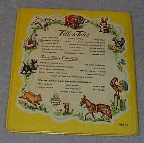 Old Children's Tell A Tale Book Let's Play 1952