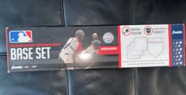 Franklin Sports MLB Baseball 5 Piece Throw Down Rubber Base Set baseball... - $19.79