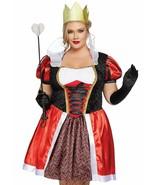 Leg Avenue País de Maravillas Reina Corazones Mujer Talla Grande Halloween Traje - $58.40