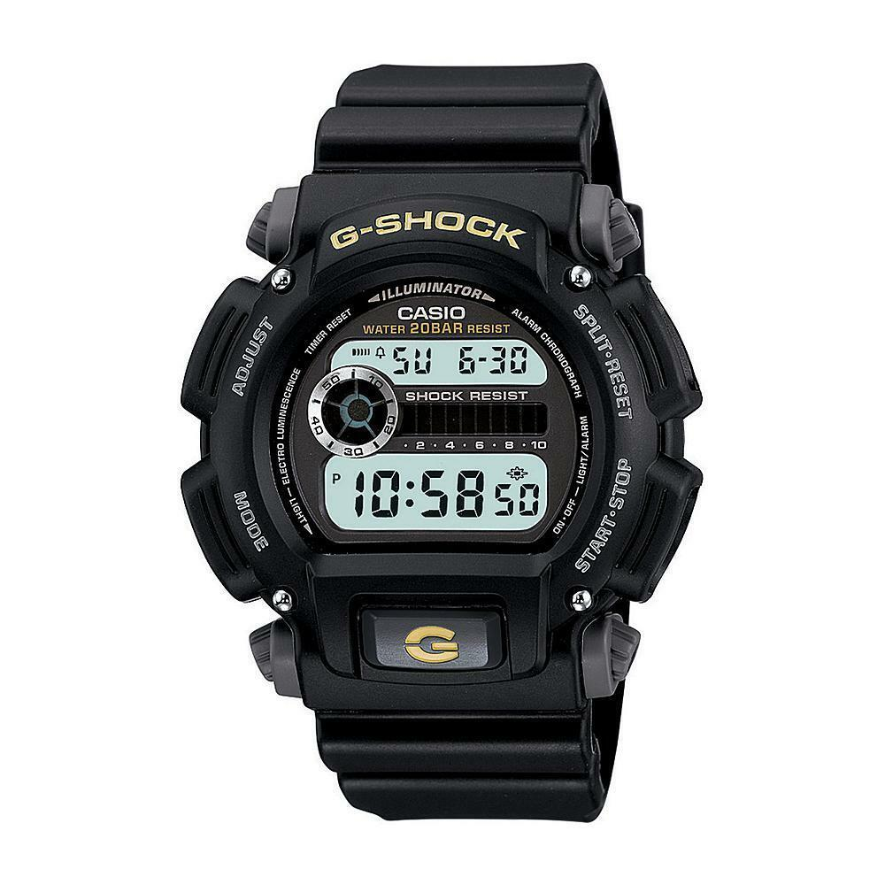 Primary image for Casio Men's Calendar Day/Date G-Shock Watch w/Black Case Digital Dial and Resin
