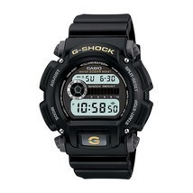 Casio Men's Calendar Day/Date G-Shock Watch w/Black Case Digital Dial an... - £52.71 GBP