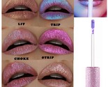 Diamond Holographic Lipstick Lip Gloss Stick Metallic Matte Not Cup Makeup Ultra