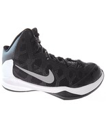 NIKE ZOOM WITHOUT A DOUBT MEN'S BLACK/SILVER BASKETBALL SHOES sz 8, #749... - $50.39
