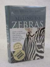 SIGNED 2x Jeff & Chad Koser SELLING TO ZEBRAS 2009 Greenleaf Book Group ... - $127.71