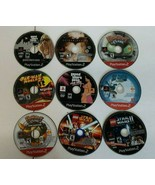 LOT 9 PS2 DISC ONLY PlayStation 2 Ratchet Sly GTA Batman Lego Star Wars ... - $34.30