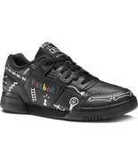 Reebok Workout Plus x Trouble Andrew Sneakers Black Men Shoes Premium Graffiti - $104.35