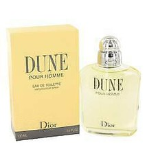 Dune Cologne By  CHRISTIAN DIOR  FOR MEN  3.4 oz Eau De Toilette Spray - $104.15