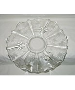 Fostoria Lido Baroque Pattern 14-inch Torte Plate - $29.65