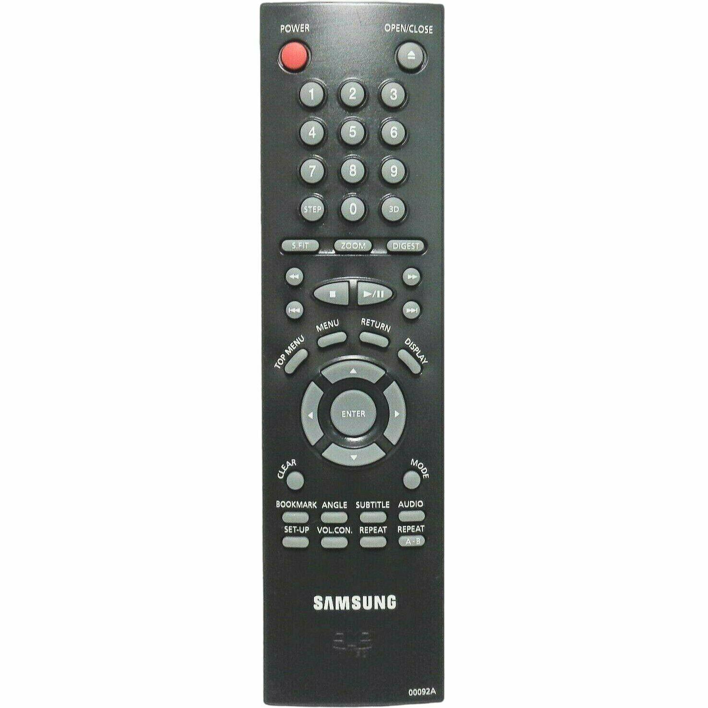 Samsung 00092A Factory Original DVD Player Remote DVDM101, DVDM201, DVDM205 - $13.99