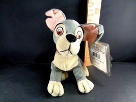 "TRAMP DIsney LADY AND THE TRAMP Plush Stuffed Toy Doll NEW With Tags 6.5"" - $9.79"