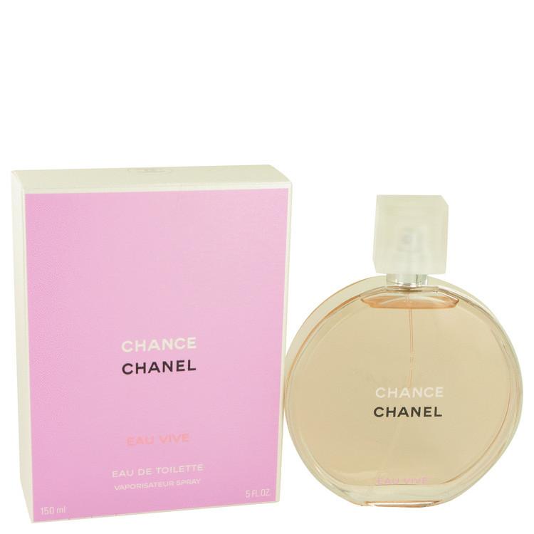Chanel chance eau vive 5.0 oz perfume