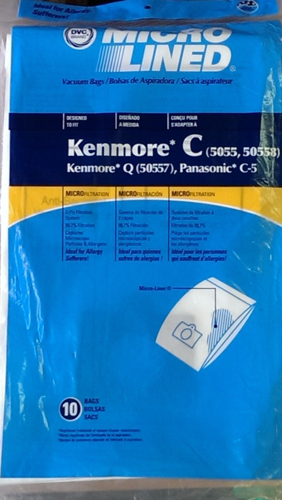 Numatic Aspirapolvere Tubo Flessibile 2.5m e Tool Kit con 20 x sacchetti di carta