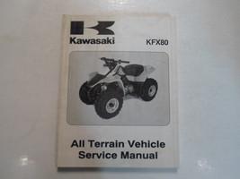 2003 Kawasaki KFX80 All Terrain Vehicle Atv Service Manual Stained Factory Oem - $31.67