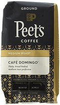 Peet's Coffee Café Domingo, Medium Roast Ground Coffee, 12 Ounce Bags (Pack of 2 - $33.64