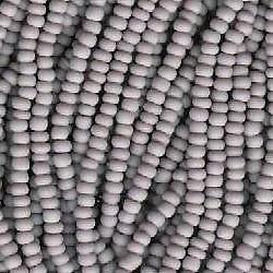 Seed bead rocaille full hank purple 12