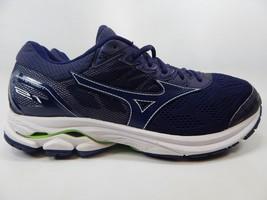 Mizuno Wave Rider 21 Size US 11.5 M (D) EU 45 Men's Running Shoes Blue Green