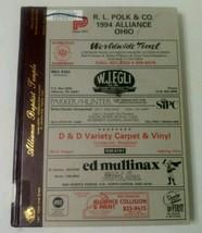 1994 Polk Alliance Ohio OH City Directory Ex Library  - $14.80