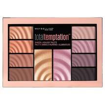 MAYBELLINE Total Temptation Eyeshadow & Highlight Palette 12g - NEW Sealed - $9.51