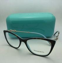 New TIFFANY & CO. Eyeglasses TF 2160-B 8134 54-17 140 Tortoise Blue & Go... - $489.95