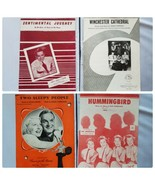Vintage Sheet Music Song Books Lot of 4 Songs Collectible - $22.31