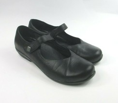 Dansko Leather Mary Jane Shoes Black Opal Style Casual Comfort - 40 / 9.5 - 10 - $46.31
