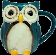 Coffee Mug Teal Owl by GreatGatherings® - $14.99