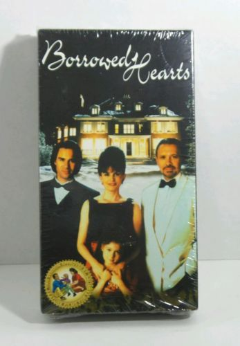BORROWED HEARTS FEATURE FAMILIES VHS WITH CC