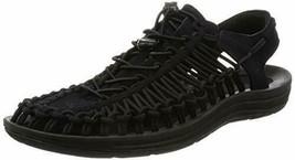 New Keen Uneek Sz 11.5 Black Sport Sandal Shoes Water Outdoors Hiking St... - $89.09