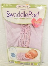 Summer Infant Newborn SwaddlePod Simple Swaddle Solution 5 -10 lbs Stage... - $15.83