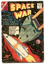 Space War #27 1964- Charlton Comics- Fire-Apes G - $18.92