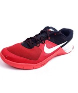 Nike Metcon 2 Mens Size 11.5 Cross Training Shoes Gym CrossFit Red Black - $27.77