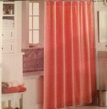 "Threshold Coral/White Dot Shower Curtain 72"" x 72"" - Brand New Sealed - $46.71"
