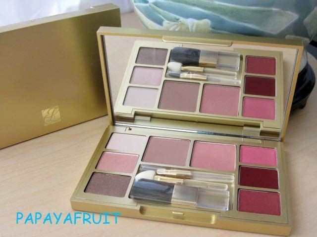 Primary image for Estee Lauder Gold Makeup Palette ~True Sand Nude Rose Pink Parfait Honey Drop~