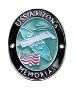 USS Arizona Memorial Walking Stick Medallion - US Navy Battleship, Pearl... - £6.94 GBP