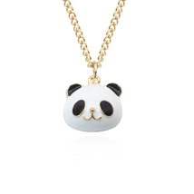 Panda Penddants&Necklaces Stainless Steel Chains Vintage Charms Chokers ... - $15.25