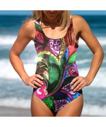 Tropical Hearts - One-Piece Ladies' Swimsuit - $79.95