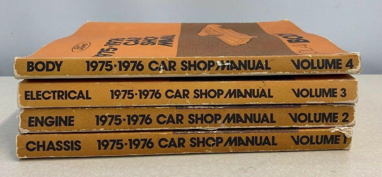 SHOP MANUAL SERVICE REPAIR BOOK 1973 FORD LINCOLN MERCURY HAYNES CHILTON
