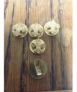 5 Vintage BSA Fleur de Lis BOY SCOUT Emblem Lapel Pin - Button Hole Style - $12.95