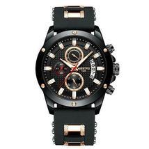 Ship From USA NIBOSI Watch Men Quartz Silicone Fashion Watches Waterproof Shockp image 4